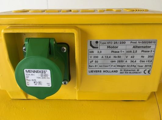 Omvormer 2,5 kVA